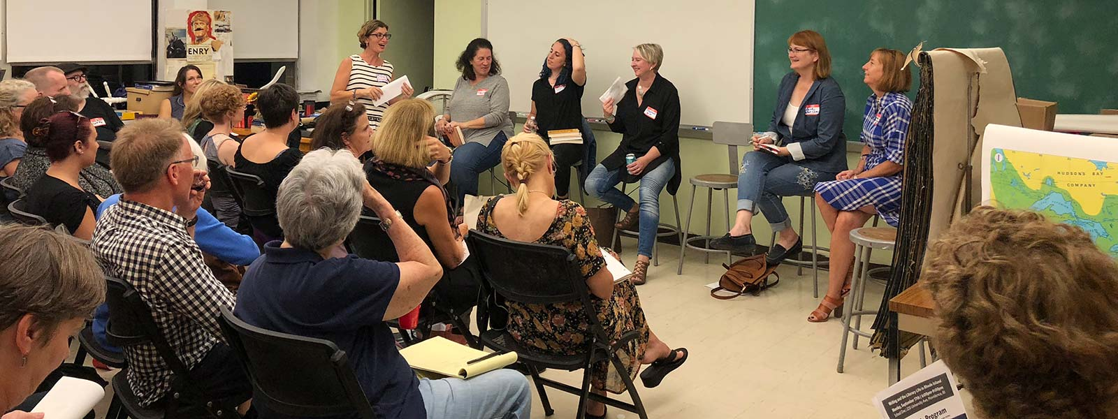 Community writing center for adult writers and young authors, from beginners to professionals.